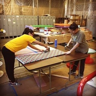 Instill vibrancy in your or with this project that two of our Arrow team members undertook recently for Helen I. Smith Elementary school in #SaddleBrookNJ. Customer service representatives Yocelyn Cocoyutla and VonMari Vargas used Arrow's TacMate and Heavy Duty T50 to give these a new lease on life. To accomplish this simple project, wrap fabric around your bulletin board and staple. Arrow Tip: Make sure a harder surface like MDF is behind the bulletin board for long-lasting quality.