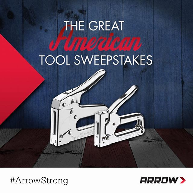 Want to give our a shot? In honor of the #FourthOfJuly, you can enter for the chance to win one of our very own staple guns. Contest open until July 31. Click the link in our profile to enter now and read the official rules!