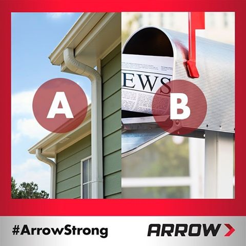 QUESTION: Which tool project would you be most likely to tackle with a handy-dandy Arrow rivet gun? Comment to share your thoughts!