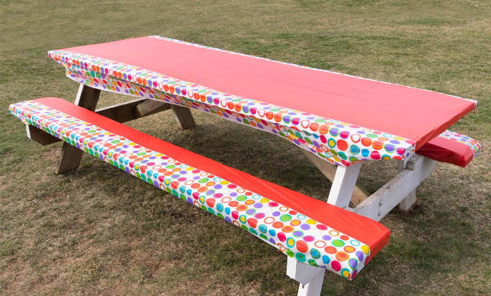 Diy Picnic Table Cushions Seats Velcromag