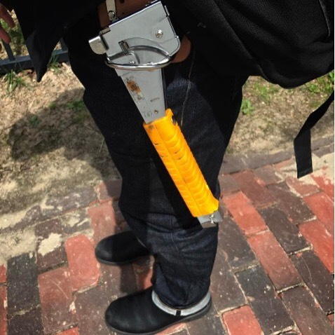 Our HT50 Hammer Tacker—not just for construction pros!  by @spenceralbee
