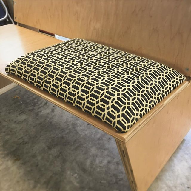 First time doing upholstery, happy with the way it's coming along! Using the @arrowfastener T50DCD electric stapler makes life a lot easier. Full plywood loveseat video out tomorrow!