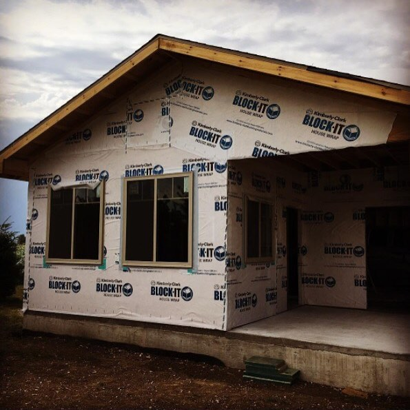 This Thursday's photo comes courtesy of @Cobaltbuildings, who recently finished up a BIG house wrap project! Your photo could be featured next! Tag us or use #MadeWithArrow!