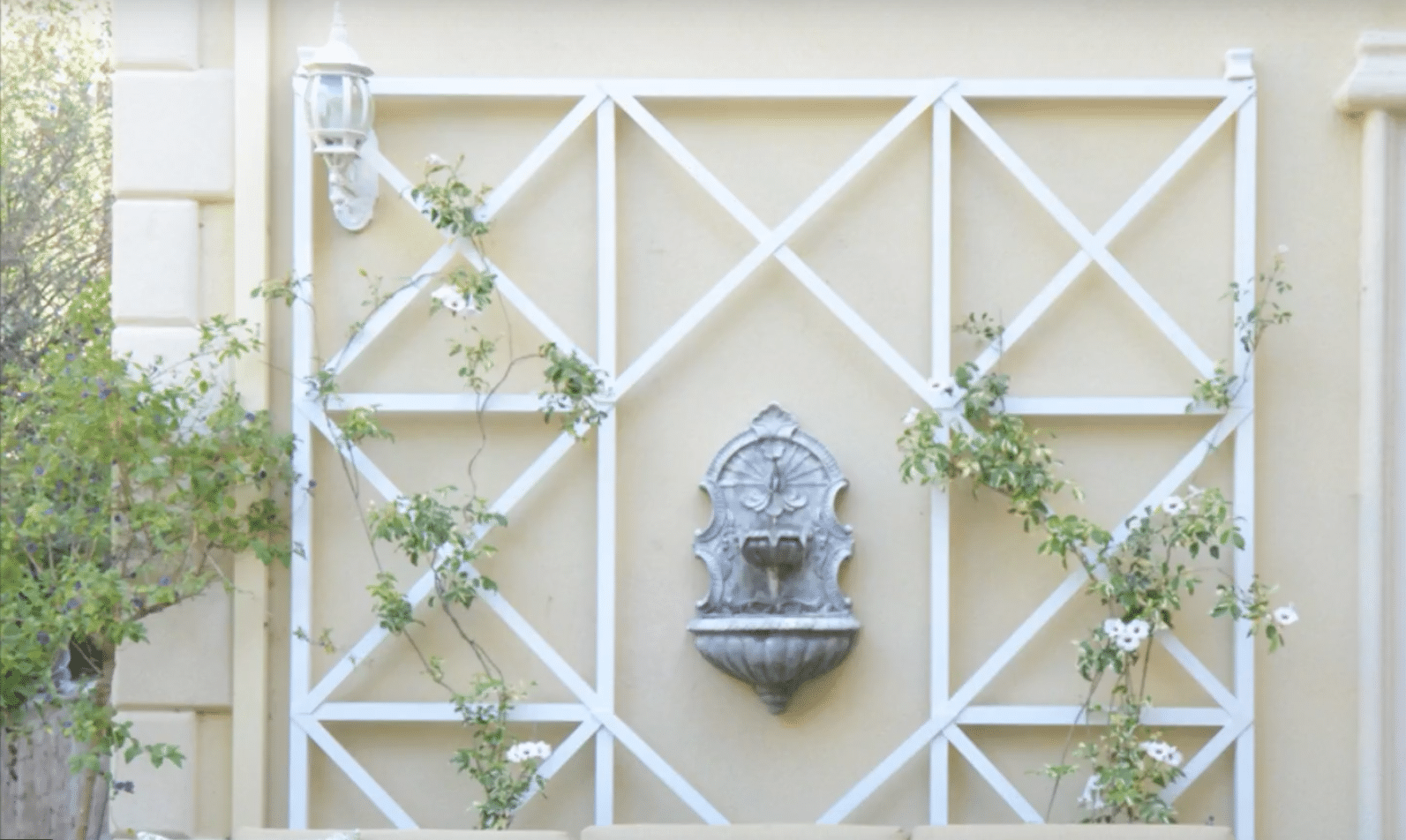 How To Build A Wall Trellis