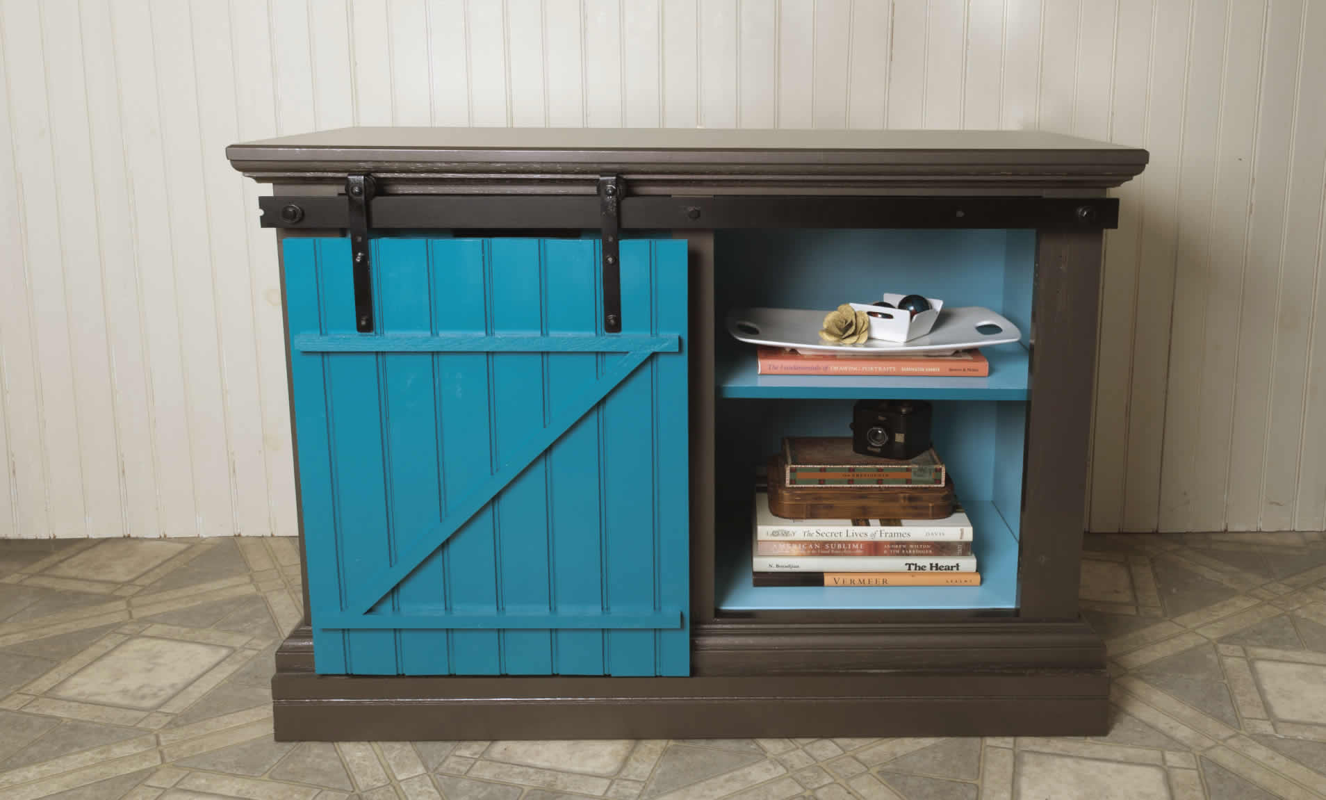 Sliding Barn Door Can Upcycle Any Old Cabinet | Arrow Projects