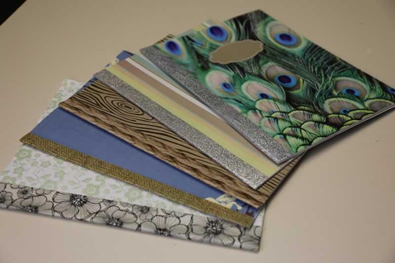 Scrapbook Paper Journal