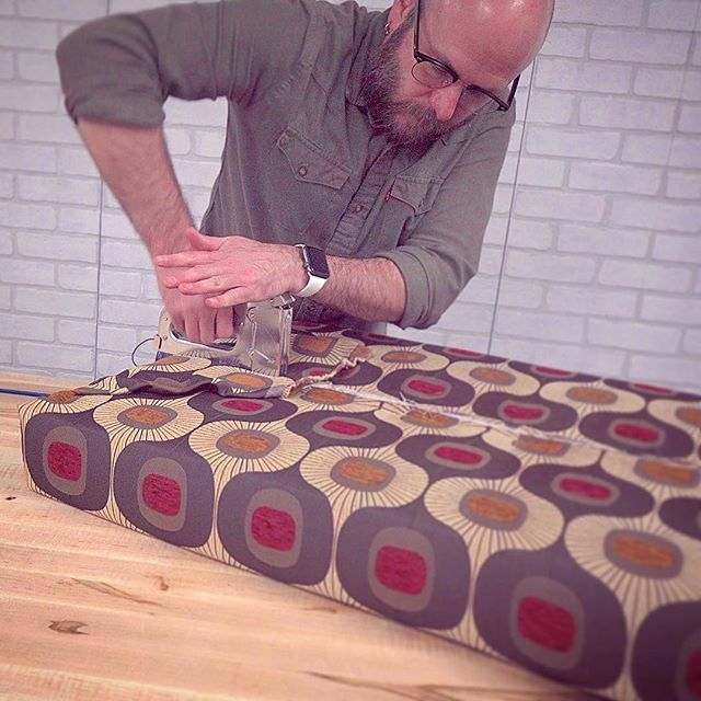 Brand new video up on YouTube on making a daybed combining woodworking and upholstery!