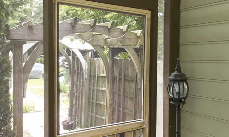 Replace A Screen On Your Wooden Door Diy Project Arrow Fastener