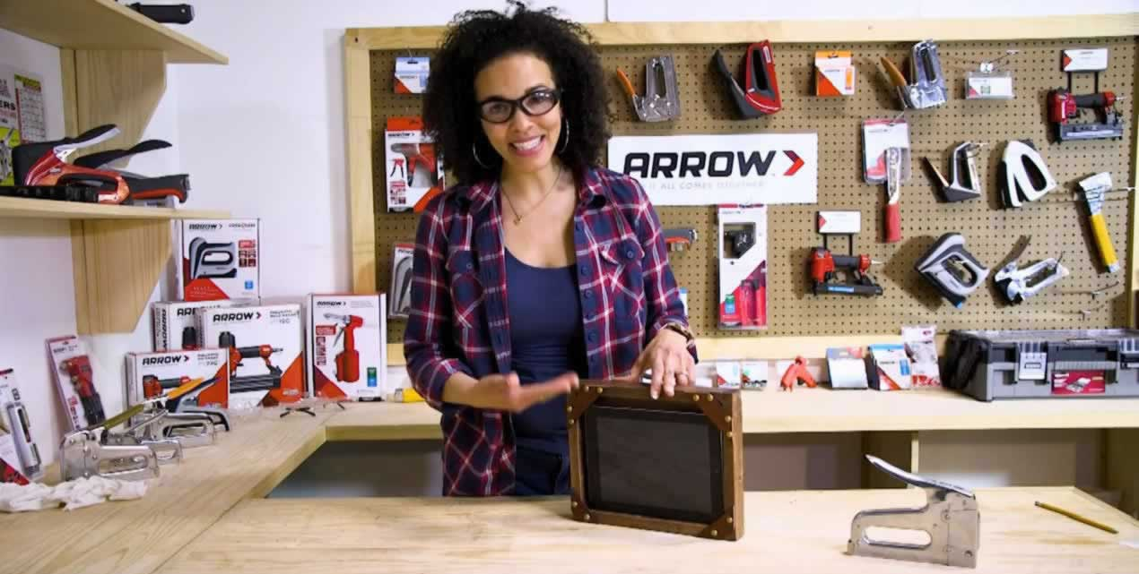 Arrow Workshop Video: DIY Tablet Holder