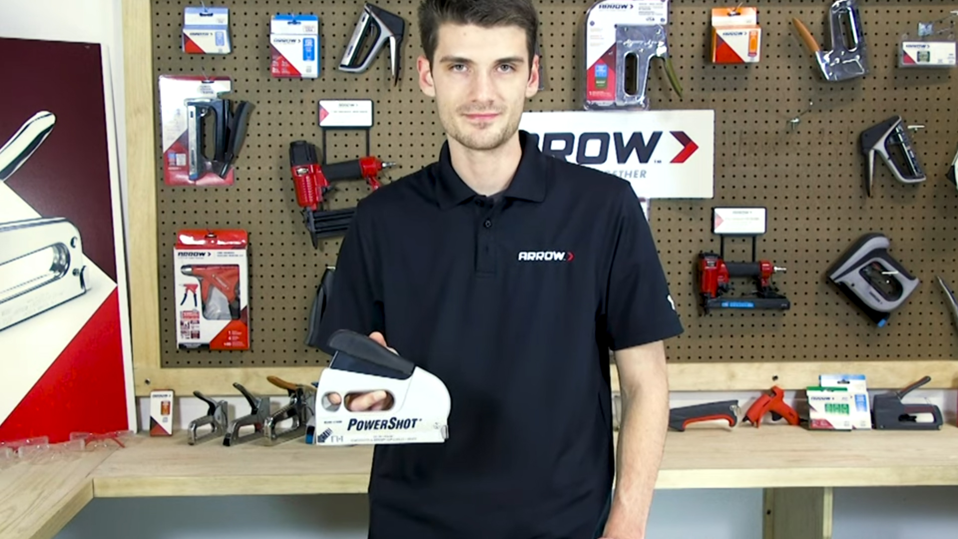 PowerShot 5700 Forward Action Staple Gun and Nailer