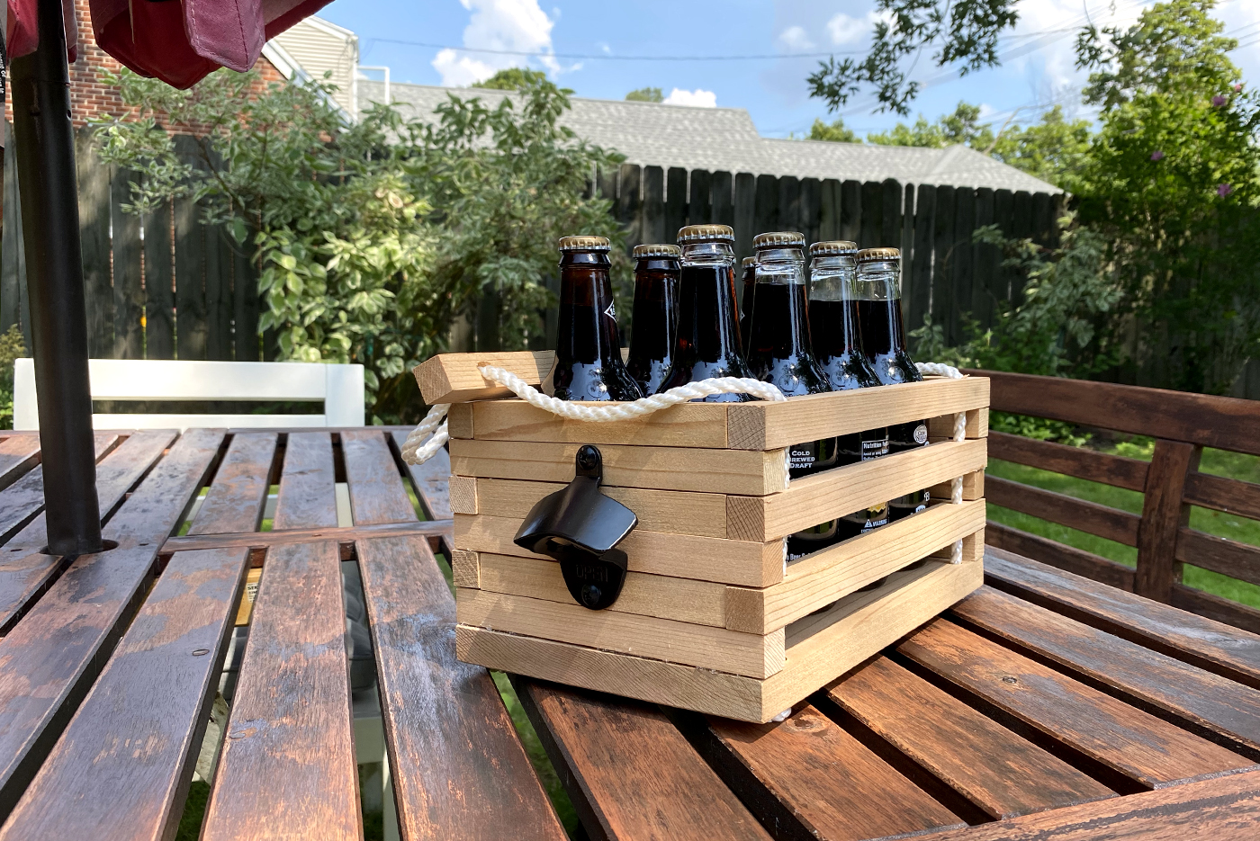 Build Your Own Beverage Carrier